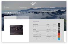 Responsive website, custom tool.