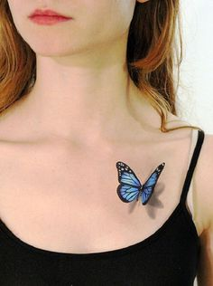 65 3D butterfly tattoos