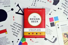 The Design Deck: Playing Cards for Designers #inspiration #designer #design #graphic #playing #cards