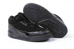 "Jorand Release Info: Michael Jordan 3 Retro ""Black Cat"" Style - Kids #shoes"
