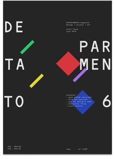 Departamento #design #graphic #cover #departamento #art #editorial #magazine