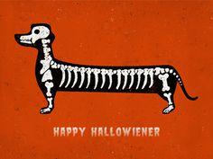 Happy hallowiener #dog #halloween