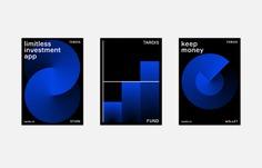 Fintech company branding identity development by Evrone