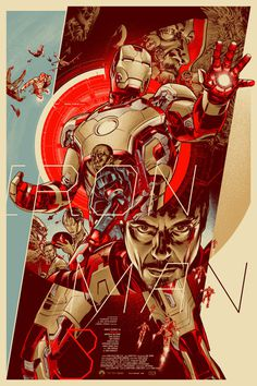 Iron Man 3 Poster #man #illustration #design #iron