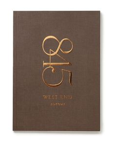 Graphis / Public Viewing | Design Annual 2012 #foil #numbers #gold #type #emboss #book cover