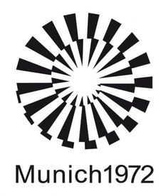 Munich Olympics Graphics, 1972 | ouno #olympic #logo