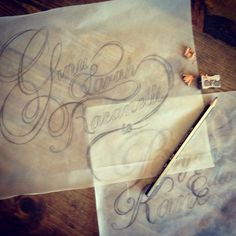 Hand Drawn Script