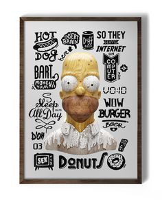Goverdose on the Behance Network #homer