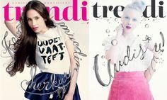 Typocovers for Trendi #cover #trendi #magazine
