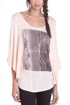 OBEY CLOTHING - OBEY HEAD IN THE CLOUDS PONCHO TEE #tee