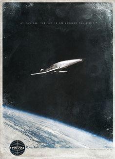 For '2001: A Space Odyssey', Retro-inspired Ads - DesignTAXI.com