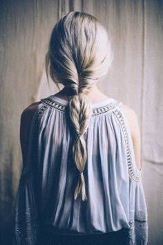 because im addicted | How to Fake A Fishtail Braid #fashion #hairstyle #photography