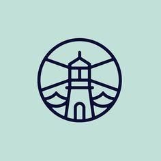 Custom loading animation we created of the @NobbysLighthouse #logo for their #website.