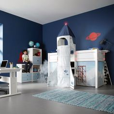 Discovery Space Rocket Bed by Lifetime #tech #flow #gadget #gift #ideas #cool