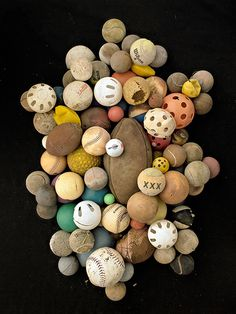 Barry Rosenthal #balls #found #photos #trash