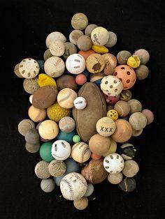 Barry Rosenthal #balls #found #photos #trash