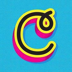 c #font #c #typography