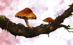 Juxtapoz Magazine - Arik Roper Illustration | Illustration #arik #juxtapoz #roper #moonhawk #art #psychedelic