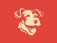 Dog #steve #illustration #wolf #dog