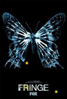 Fringe #fringe #abrams #sci #fi #butterfly #show #poster #tv
