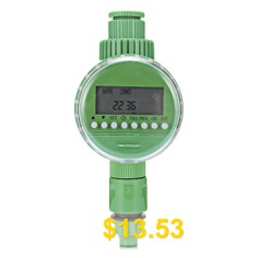 Automatic #Watering #Timer #Irrigation #Controller #with #LCD #Display