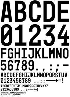 Mono45 Headline | EuropaType.com #font #typography