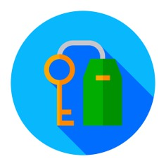 See more icon inspiration related to hostel, key, access, room key, room, hotel, security and holidays on Flaticon.