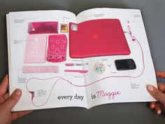 Maggie's Mirror #branding #maggies #store #catalogue #mirror #vintage