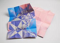 Tsto | Cosas Visuales #blue #print #brochure #poster