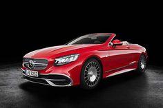 Mercedes-Maybach's S650 Cabriolet Has Swarovski Headlamps #MercedesMaybach #Maybach #sclass #cabriolet #LAAutoShow #Dreamcar #Cartastic #
