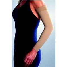 Compression Sleeve Jobst® Large, 6-7/8-9-1/4 Inch Wrist, 11-3/8-13-1/2 Inch Mid Lower, 12-3/4-19-7/8 Inch Mid Upper Beige Arm