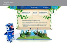 Pepsi Recycling - SCAR #website #papercraft #recycling