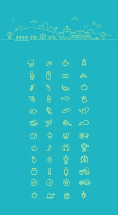 Good Foods Co-Op icons