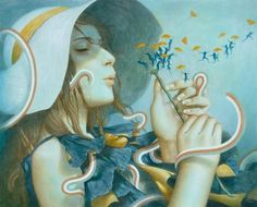 Illustrations by Tran Nguyen | Cuded #tran #illustrations #nguyen