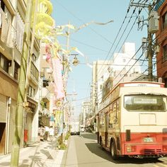 At the end of the road. | Flickr - Photo Sharing! #bus #sky #tokyo #photography #skytree #japan