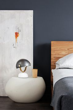 Interiors Designed in a Smoked Grey Palette with Warm Walnut Accents