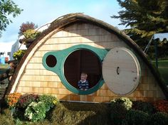 Products - Hobbit Hole playhouses, sheds, cottages, saunas, more! #industrial design #fun #quirky #hobbit holes