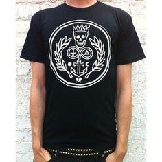 The Dead Sea Mob Shop — The Dead Sea Mob - Logo T-shirt in black