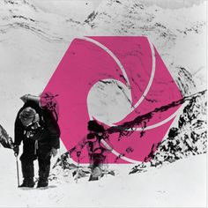 Noah Mooney Design #shapes #mountain #line