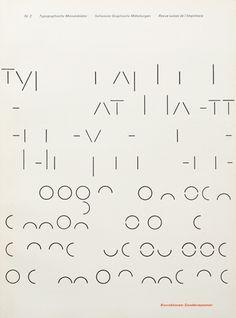 Typografische Monatsblätter. Die Fachzeitschrift für Typografie, Schrift und visuelle Kommunikation | Cover from 1966 issue 2 | Cover Desi