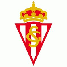 Sporting Gijon Primary Logo () #spain #crest #soccer #sports #type