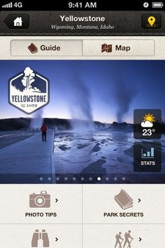 App Store - National Parks by National Geographic