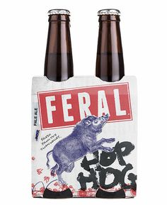 Feral Hop Hog Packaging #campaign #beer