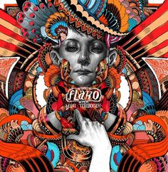 CD cover designs : FAIR HERON/ flaKo/ amos showtime on the Behance Network #cover #illustration #cd