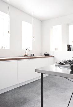 Kitchen @ Vedbaek House IV by Norm.Architects. #vedbaekhouseiv #normarchitects #kitchen