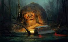 Illustrations by Sergey Kolesov #arts #illustrations #inspirations