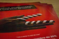 2FICD - Festival Internacional de Cine en el Desierto #logotype #movie #red #branding #2ficd #design #minimalism #simple #cine #ficd #identity #film #logo #hand #typography