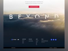 Footer concept #layout #footer #image