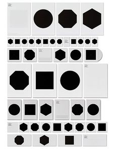 Ruiz + Company | Shiro to Kuro #print #design #graphic #shapes #black #minimal #ruizcompany