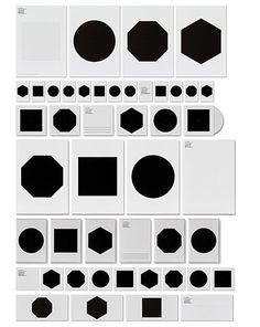 Ruiz + Company   Shiro to Kuro #print #design #graphic #shapes #black #minimal #ruizcompany